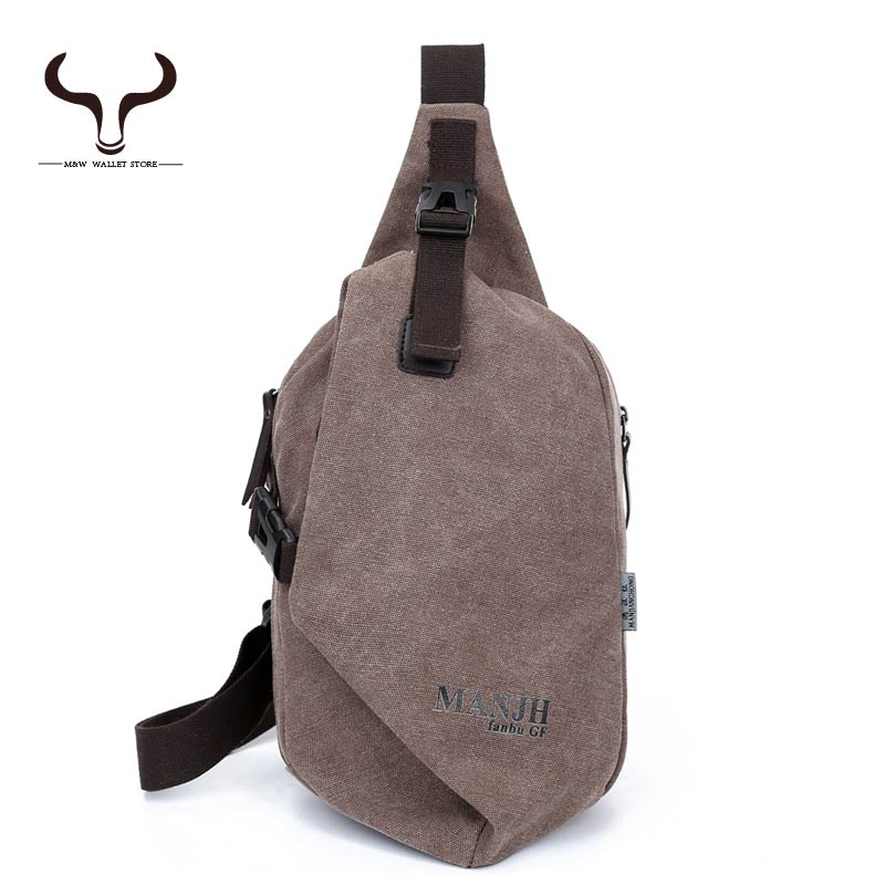 Prevent Wear Scratch Canvas Men Shoulder Bags Solid Zipper Soft Chest pack Messenger Leisure Summer Men's packet XCMX/1318(China (Mainland))