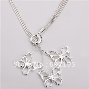 new 2013 new design 925 silver plating pendant necklace