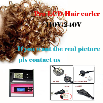 LCD Screen Digital Display Ceramic Hair Curler Curling Iron Hair Roller Hair Styling Tools for Hair Care