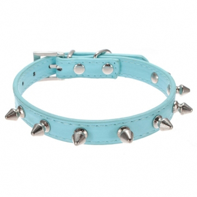 Spiked Dog Collar Multi Colors