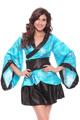 Halloween Cosplay Costume Stage Dance Dress 1278 Blue Japanese Cosplay Kimono Costume Women