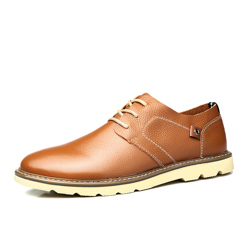 genuine leather leather shoes casual 2016