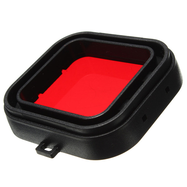 Polarizer Red Underwater Sea Dive Snap On Water Filter for GoPro Hero3+ / 3 Plus(China (Mainland))