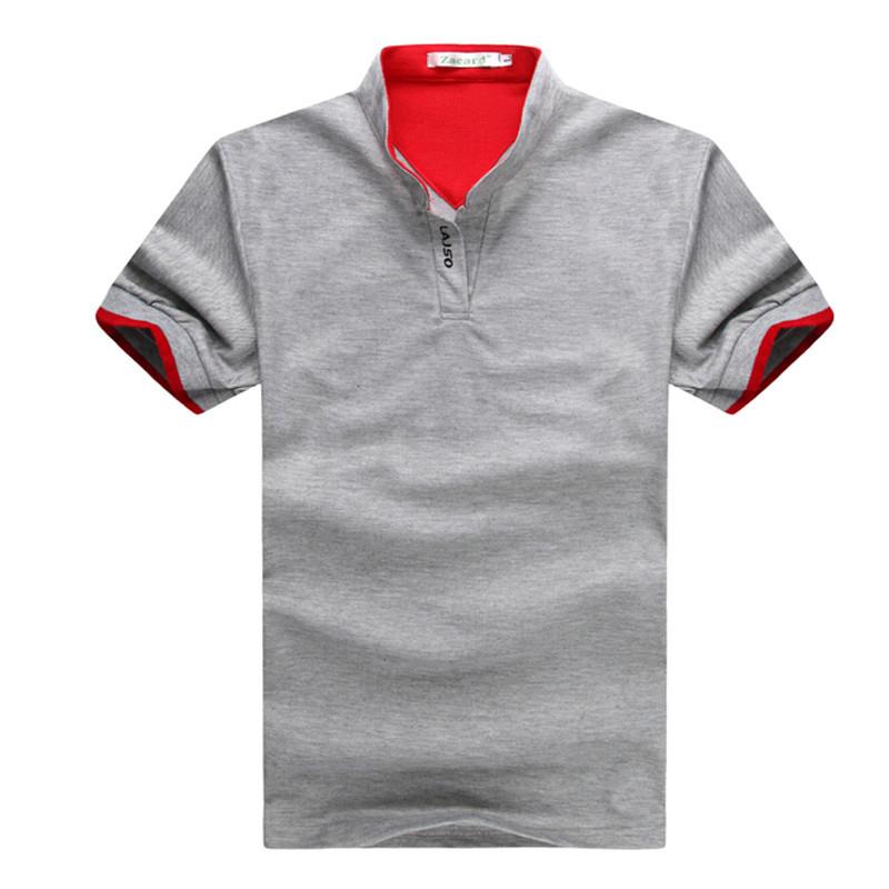 2015 New Mens Sports Casual T Shirt Men's Short Sleeve Cotton Camisetas Men T-shirt 6 colors size tshirt Clothes - Top design t shirt store