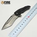 BMT F95 110 Taktik Survival Katlanır Bıçak D2 Blade Siyah G10 Kolu Rulman Bıçak Kamp Cep Bıçaklar OEM Araçları EDC