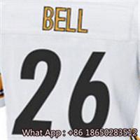 100% Stitched With Customized #7 Ben #26 Le'Veon #36 Jerome #43 Troy #50 Ryan #84 Antonio Men's Black White YellowBlack Jersey(China (Mainland))