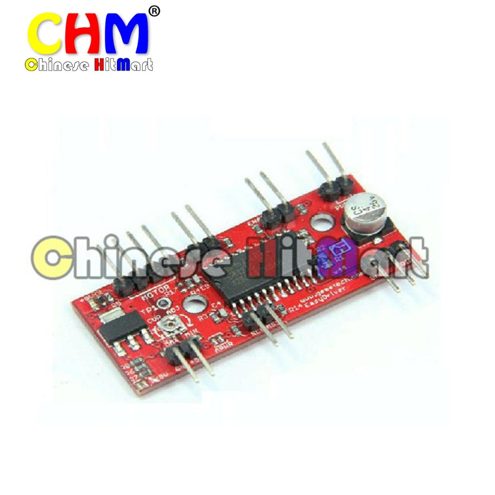 A3967 Easydriver Stepper Motor Driver Board Pin Header