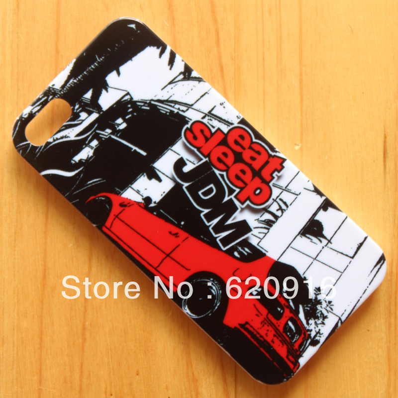 JDM STICKER BOMB Illest Hellaflush Back phone case hard back cover iphone 4 4s 5 5s 6 4.7 inch s - yuncheng store