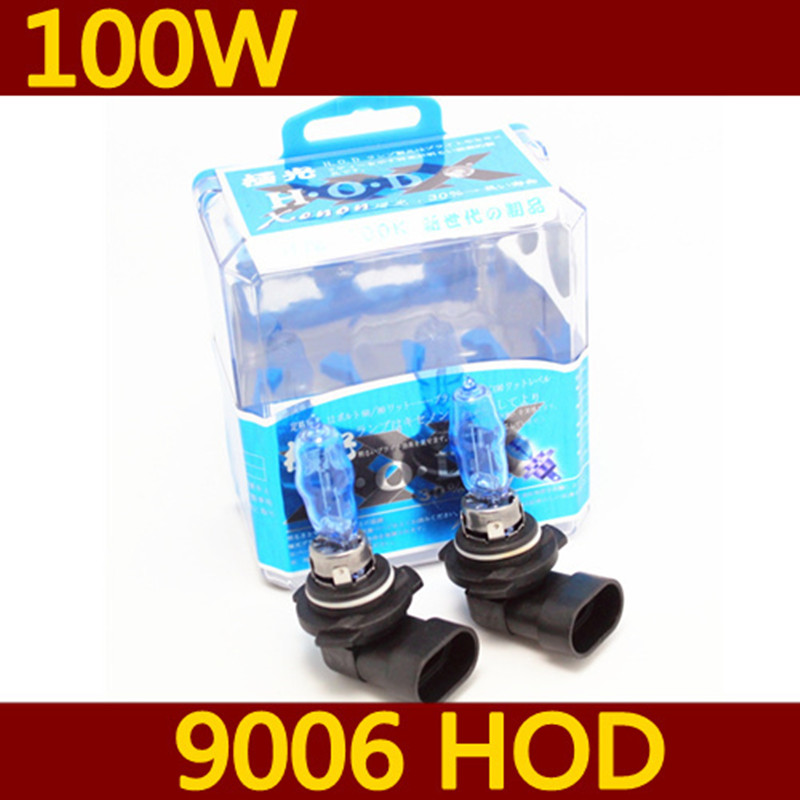 Orignal germany diamond vision 9006 HB4 Head Light Halogen xenon bulb lamp Super White 12V 100W 6000K Free Shipping AAA(China (Mainland))