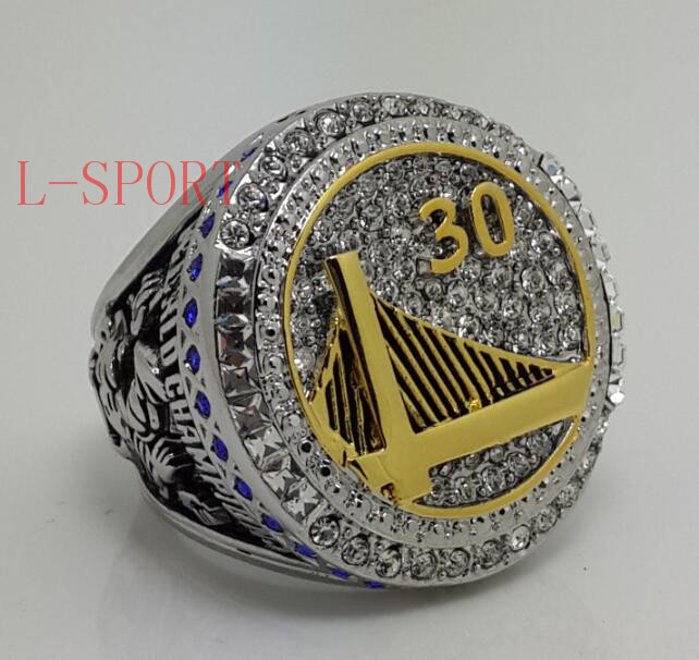 Golden State Warrior 2015 CURRY Basketball Championship ring replica size 10 &amp; 11 US Back Solid High Quality<br><br>Aliexpress