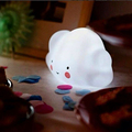 White mini Cloud Lamp Toy For Children Bedroom Nursery Room Decor Night Lamp Cloud Smile Face