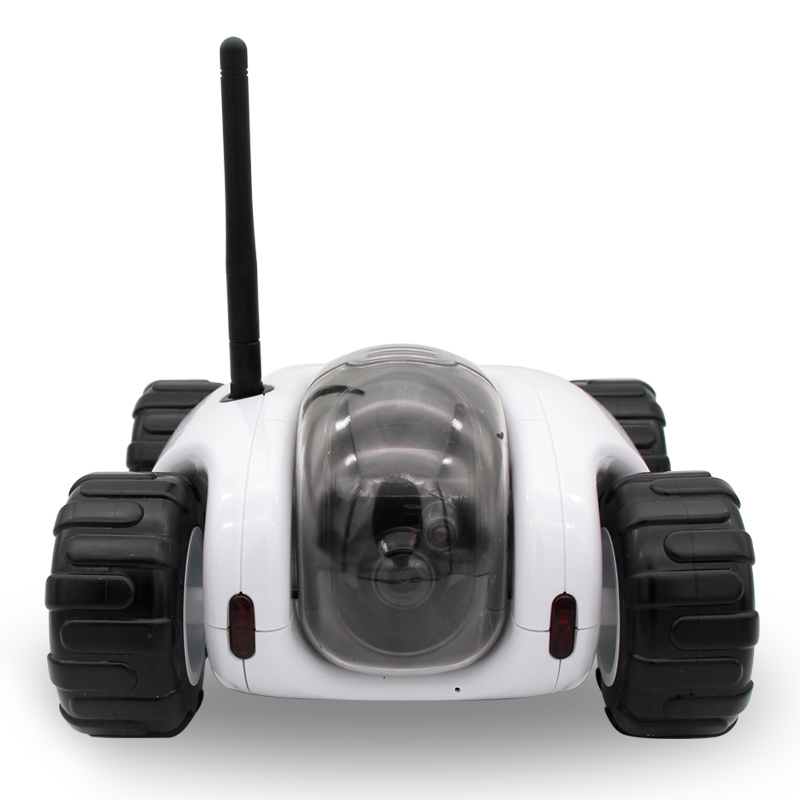 2016 Cloud Rover tank robot WiFi Internet P2P RC spy car ,night vision camera video toy wireless network remote control - CCTV System Shop store