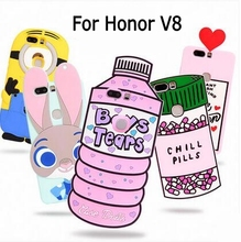 Buy 3D Cartoon ZOOTOPIA Bunny Minion Love Potion Chill Pills Ice cream love Water Bottles soft silicone case cover Huawei V8 for $7.27 in AliExpress store