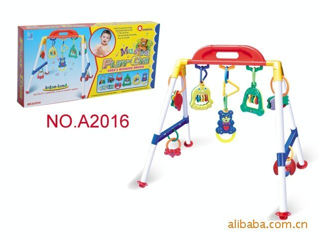 wholesale educational toy baby fitness to stand musical play-gym baby Monkey Bars baby Fitness tower+free shipping