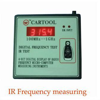 Original A+ Quality Wireless IR Remote Control Transmitter Frequency Meter Counter Wavemeter Tester 250MHz-1GHz - Tomtop Save Shop store