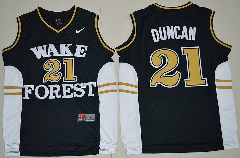 Top A Best quality 2016 new arrivals,high quality,Wake Forest Demon Deacons,Tim Duncan()