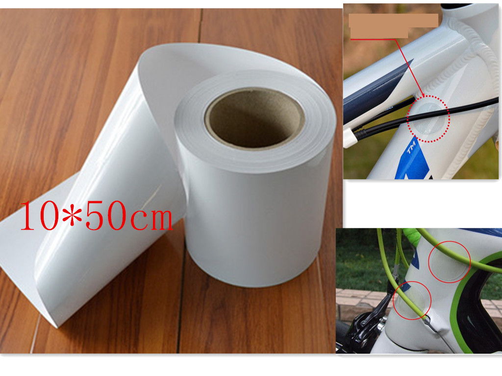 1pc Bicycle Sticker Bicycle Anti Scratch Frame Sticker