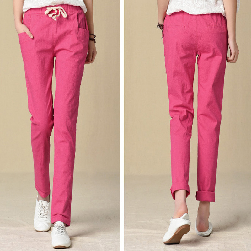 Compare Prices on Linen Pants White- Online Shopping/Buy Low Price ...