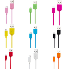 New 1m 3FT Micro USB Charger Charging Sync Data Cable for Samsung Galaxy S3 S4 S5 Note 2(China (Mainland))