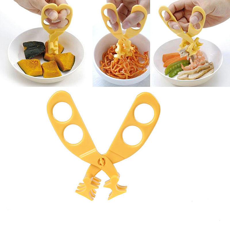 Baby Food Mills Safety Baby Food Scissors High Quality Baby Food Supplement Scissors New Multifunctional Food Cut Free Shipping