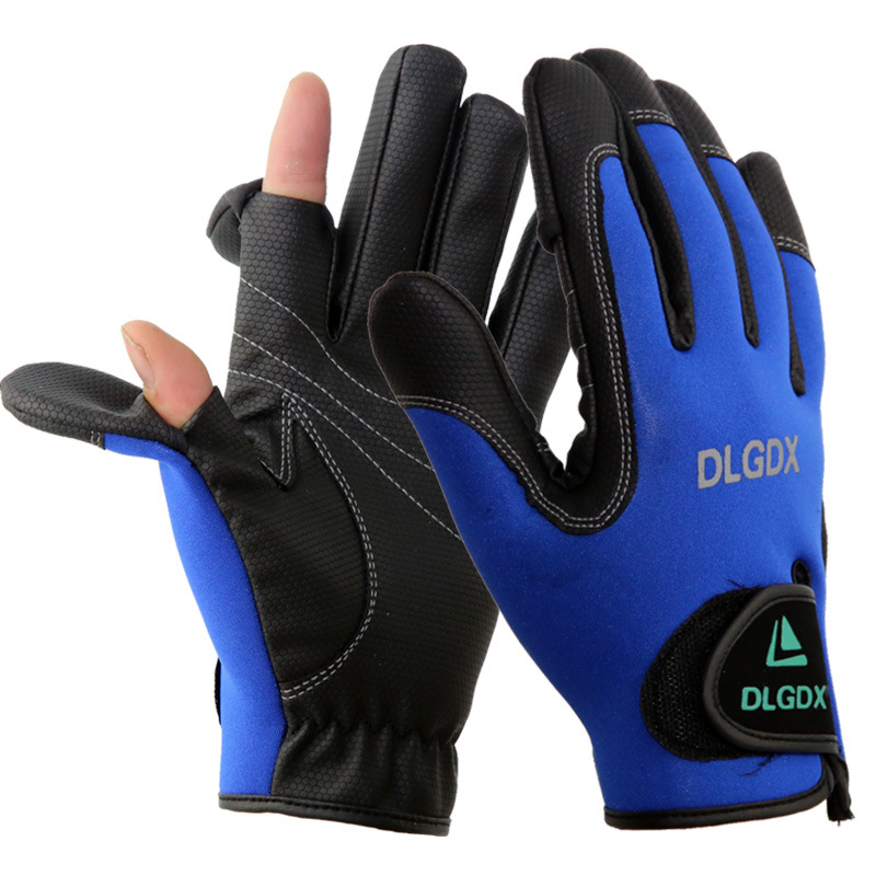 New top quality men women outdoor winter fly fishing for Winter fishing gloves