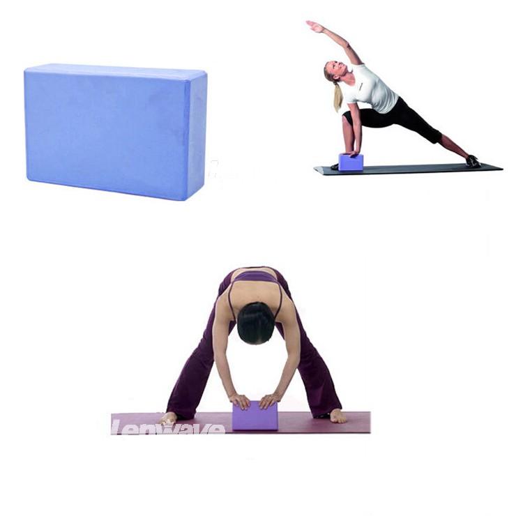 Gym Block Foam Foaming Brick Stretch Aid Health Fitness Pilates Exercise Gym Equipment Wholesale (7)