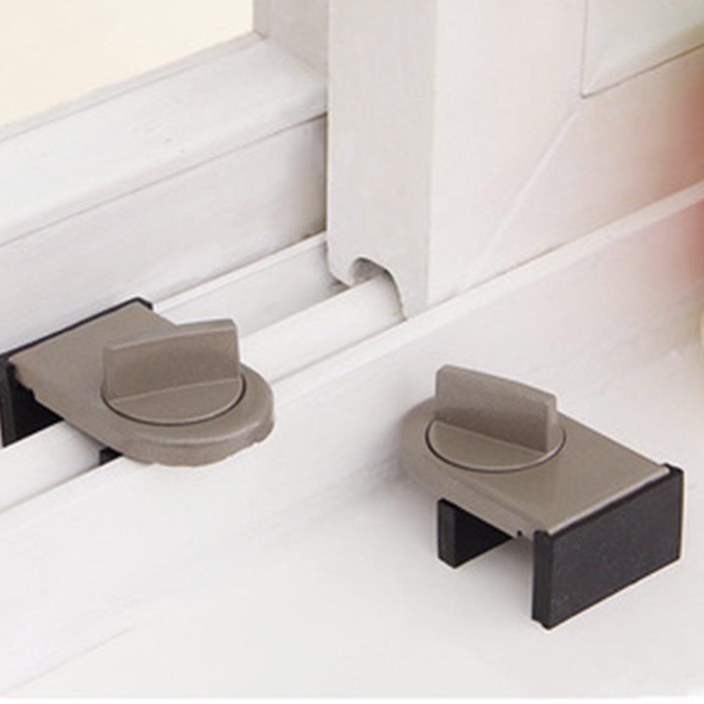 Window Sliding Door Baby Safety Lock Doors Security Anti Theft Lock
