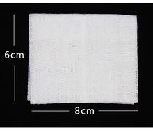 10 упак./лот 6 см * 8 см медицинский стерильный марлевый первой помощи аксессуары перевязки хлопка марля рану поставки(China)