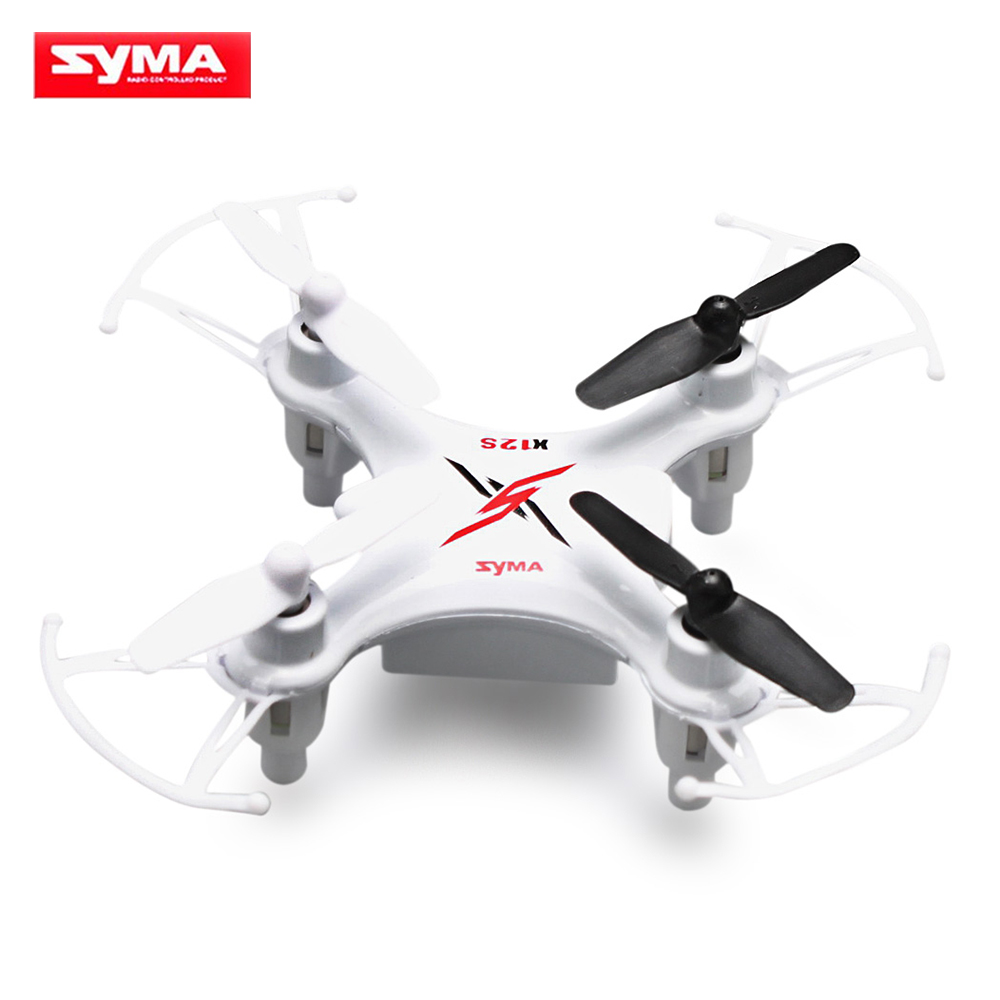 Original SYMA X12S RC Helicopter 4CH 6-Axis Gyro Mini Drones Quadcopter Gyroscope with LED Light Drone for Children Toys(China (Mainland))