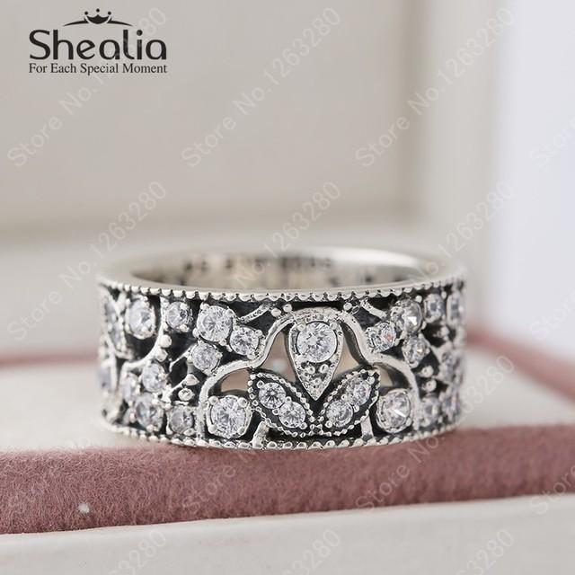 2015 осенью новый мерцающий листья кольца для женщин аутентичные стерлингового серебра 925 ааа листа обручальные кольца RIP141