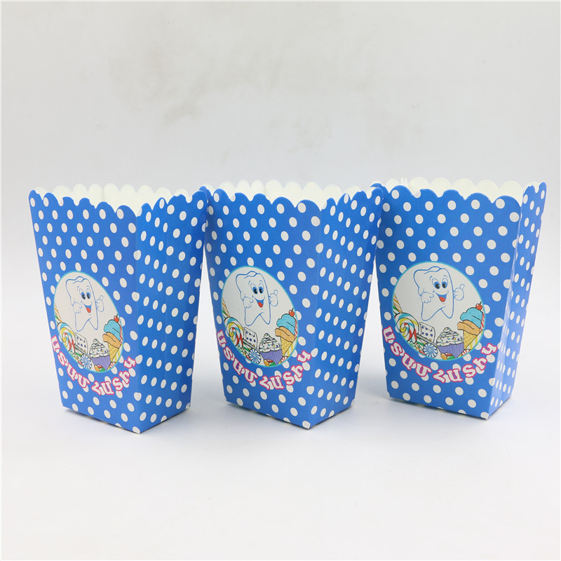 Movie candy boxes promotion shop for promotional movie for Baby first tooth decoration