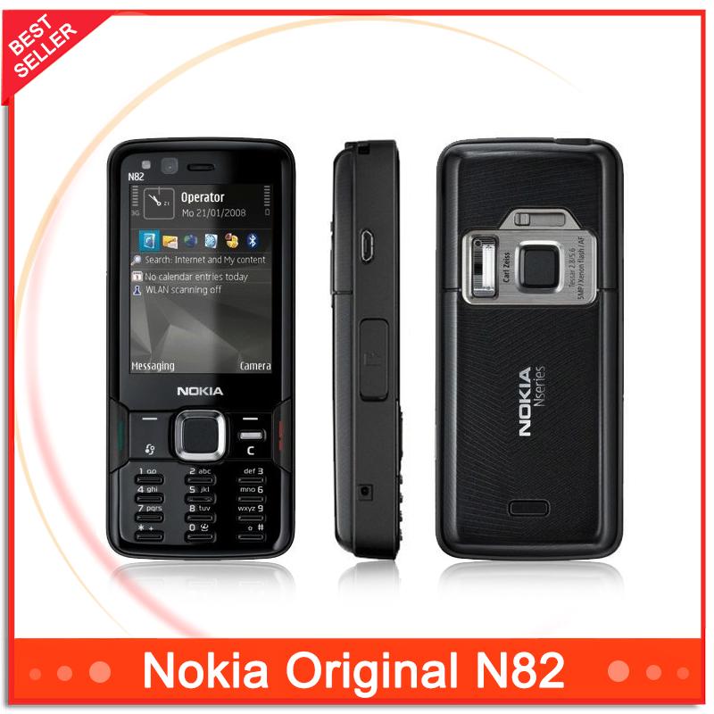N82 Original phone Unlocked Nokia N82 GSM WCDMA cell phones WIFI GPS Bluetooth 5MP Camera Phone Unlocked(China (Mainland))