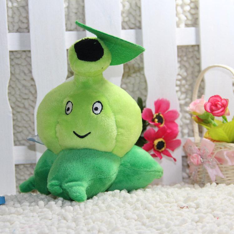 18CM (Bursa) Plants vs. Zombies Mucus Bursa Plush Doll PVZ Toy Kid Toy/Christmas Gift/New Year Gift doll plush toy Top games (China (Mainland))