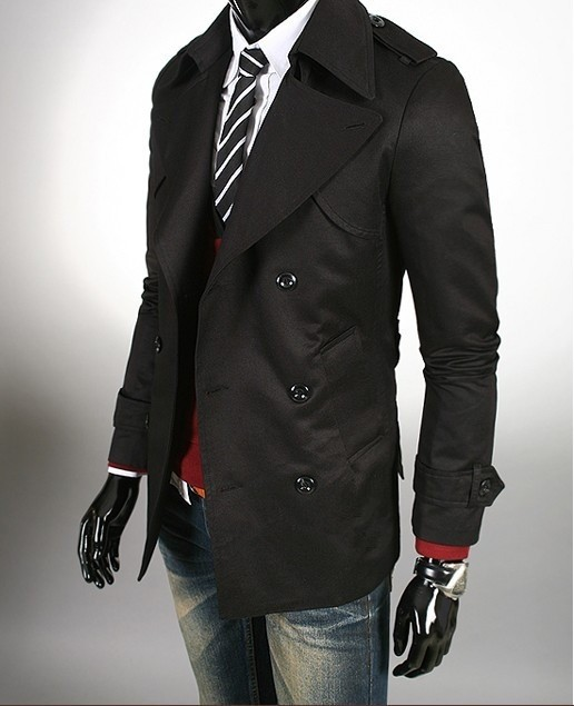 High Quality Grey Trench Coat Men-Buy Cheap Grey Trench Coat Men
