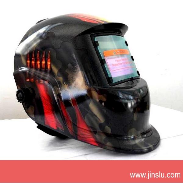 Free shipping! KM-1600 Welding Helmet Solar Power Auto Darkening Welder Mask(China (Mainland))