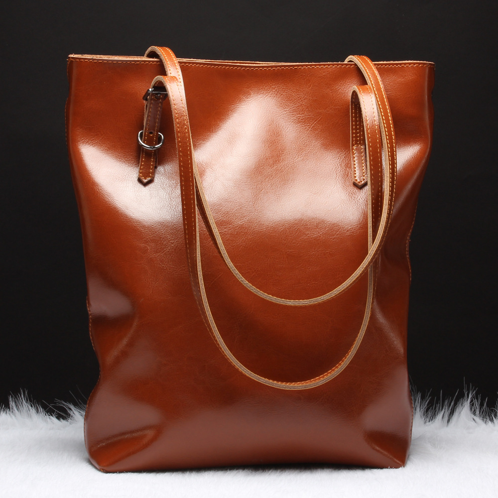 best selling brand Genuine Leather tote Large space Lady women messenger bag Women's handbag bags handbags women famous brands(China (Mainland))