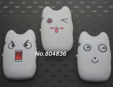 High Quality Smiling Cat Mini MP3 Music Player with TF Card Slot for leisure (no accessories)