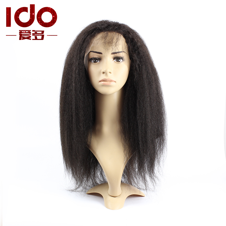 kinky straight wig aliexpress uk kinky straight lace front wig virgin ...