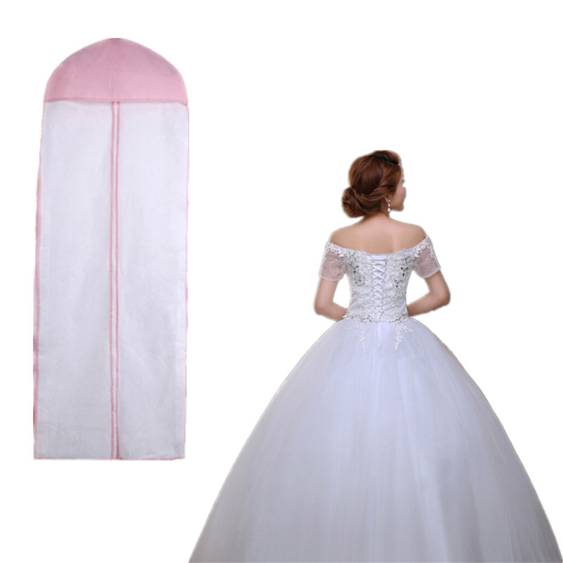 72 breathable wedding prom dress gown garment clothes cover dustproof bag zip in storage bags. Black Bedroom Furniture Sets. Home Design Ideas