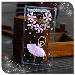 For oppo   full series x907 u701 r807 r805 r801 transparent shell rhinestone pasted rhinestone phone case