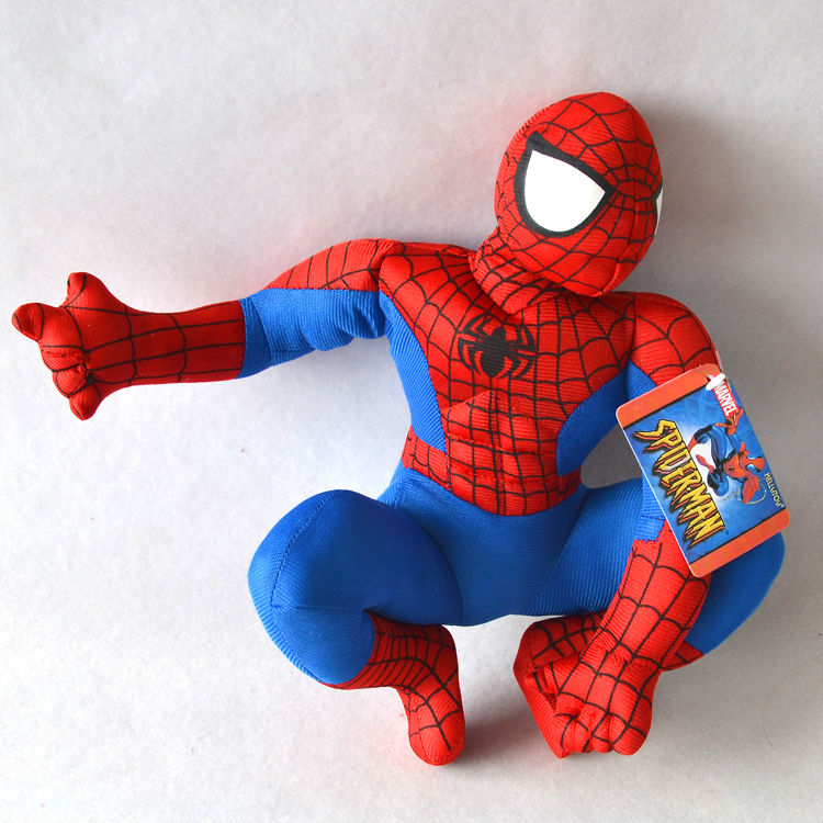 11.8 Inches Spiderman Baby Plush Soft Doll Birthday Gift Toys - Truman Hua's store