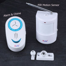 Smart home automation wireless infrared PIR motion sensor detector alarm security system