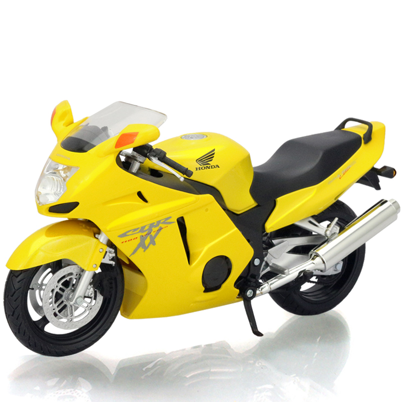 Motorcycle Models CBR1100XX Yellow 1:12 scale Alloy motorcycle racing model motorcycle model Toys Kids Gift Model Toys(China (Mainland))