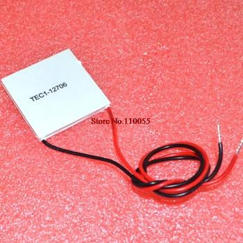 10pcs/lot TEC1 12706  12v 6A TEC Thermoelectric Cooler Peltier tec1-12706