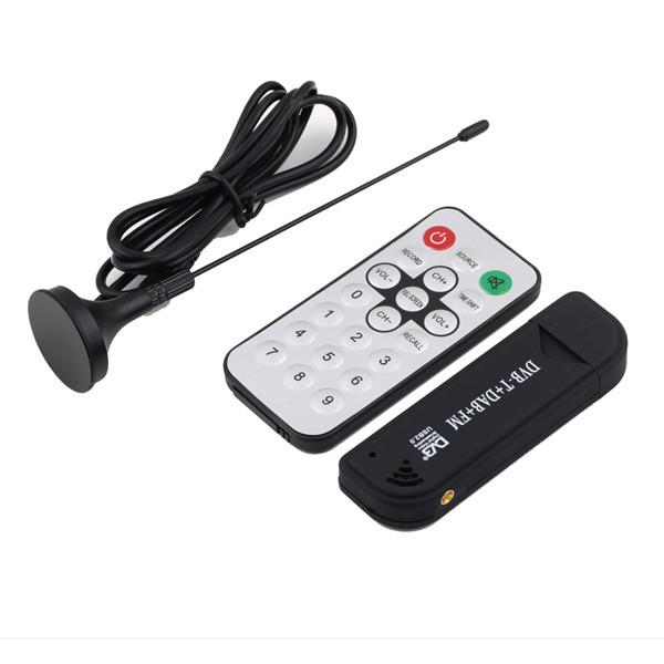 1Pc Free Shipping USB2.0 Digital DVB-T SDR+DAB+FM HDTV TV Tuner Receiver Stick HE RTL2832U+R820T Newest(China (Mainland))