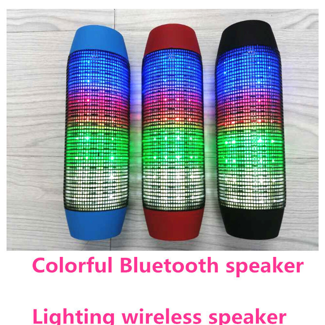 Pulse Colorful 360 LED lights degree surround Wireless Bluetooth speaker Support NFC TF Card Lightning speaker free shipping(China (Mainland))