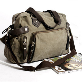 Canvas bag handbag casual travel big school bags male messenger shoulder bag