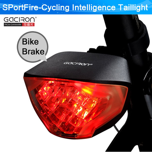 mtb Smart/Intelligent Bicyle Brake Light LED Rear Bike Light/Cycle Lights/Warning Lamps Night Safety Riding - SPortFire Store Outdoors Sports store