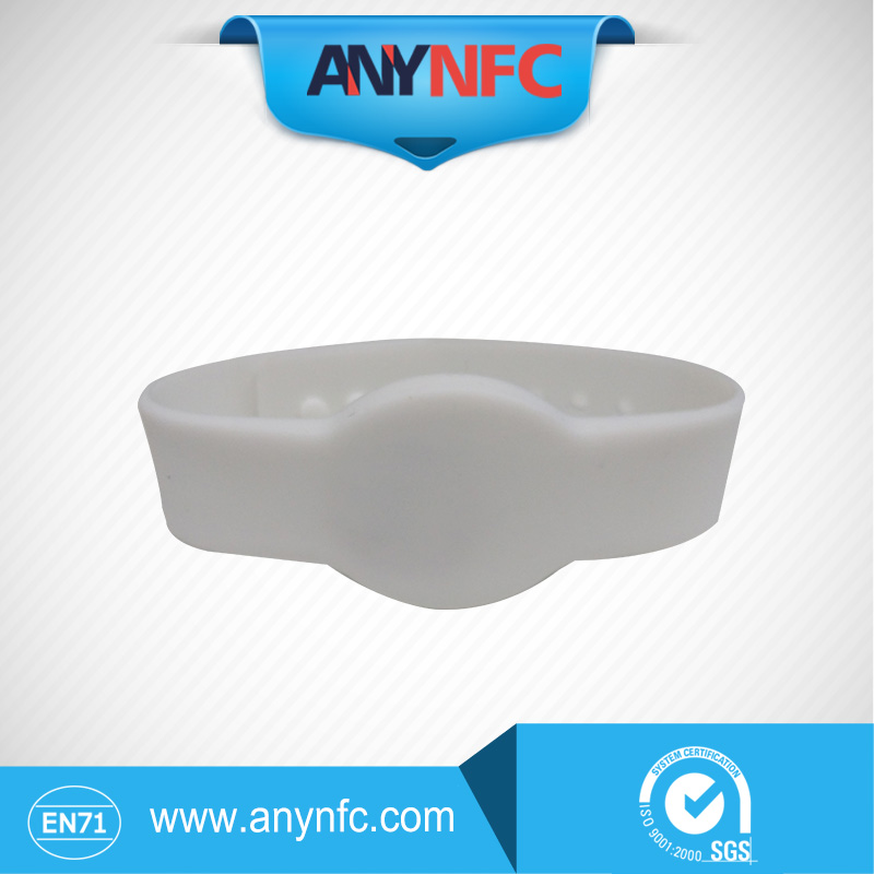 White Colour * Silicone RFID Wristband RFID Bracelet NFC Tag, RFID Tag for access control with Ntag203 Chip Free Shipping(China (Mainland))