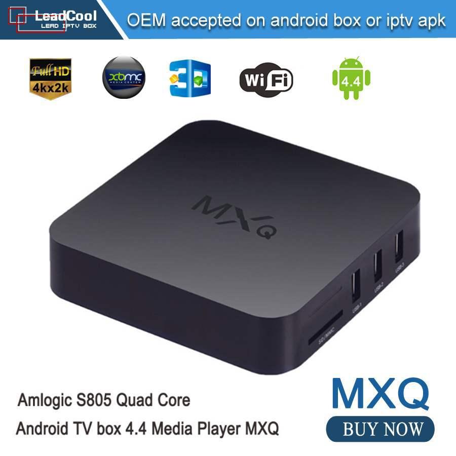2pcs MXQ Smart Amlogic S905 Android 5.1 TV BOX Quad Core UHD 4K 60fps HW decoding 1G/8G 1000M LAN BT4.0 H.265 WIFI Media Player<br><br>Aliexpress